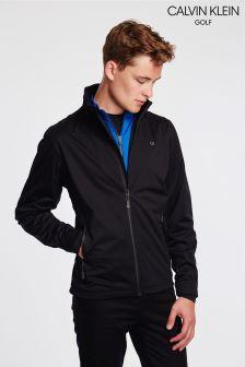 Calvin Klein Golf Black Waterproof Jacket