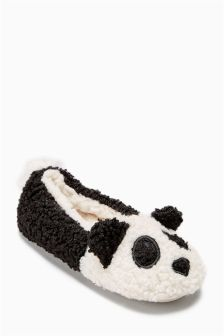 Panda Ballet Slippers (Older Girls)