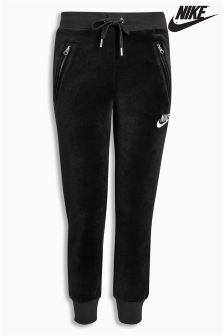 Nike Black Velour Pant