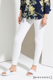 Warehouse White Powerhold Skinny Cut Jean
