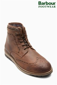Barbour® Timber Tan Cowan Brogue Boot