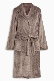 Long style ladies kimono dressing gown up to ankle with sash tie Zexxxy Women Kimono Robes Peacock and Blossom Print Silk Short Sleep Robe ZE by Zexxxy.