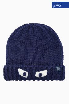 Joules Navy Character Hat