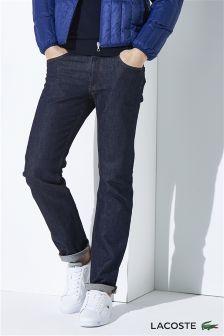 Lacoste® Indigo Tapered Jean