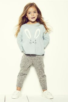Bunny Sweater And Joggers Set (3mths-6yrs)