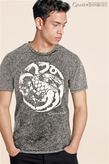 Game Of Thrones Acid Wash T-Shirt