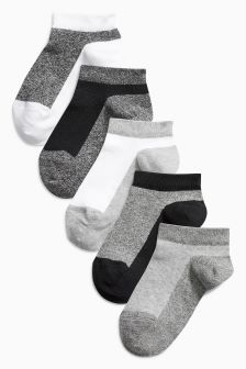 Trainer Socks Five Pack (Older Boys)