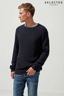 Selected Homme Navy Crew