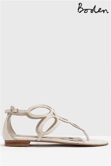 Boden White Circle Sandal