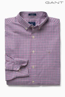 Gant Pink Tech Prep Check Twill Shirt