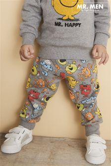 Mr Happy All-Over-Print Joggers (3mths-6yrs)