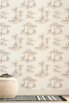 Paste The Wall Safari Animal Wallpaper