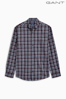 Gant Orange Nordic Multi Plaid Shirt