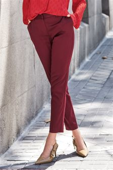 Slim Twill Trousers