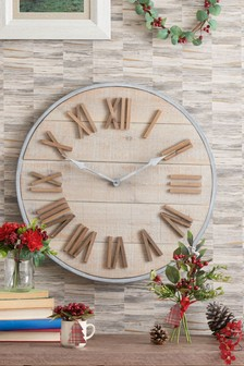 Small Salvage Wall Clock