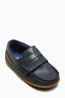 Leather Penny Loafers (Younger Boys)