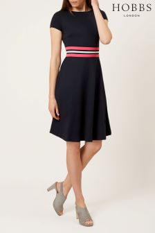 Hobbs Blue Seasalter Dress