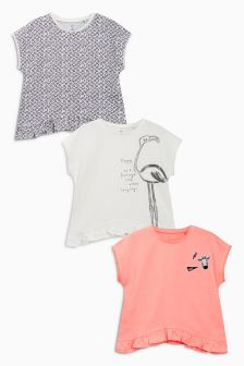 Character Short Sleeve T-Shirts Three Pack (3mths-6yrs)
