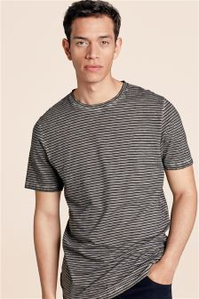 Overdyed Stripe T-Shirt