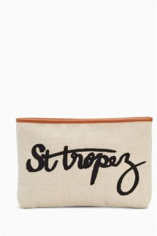 St Tropez Clutch Bag