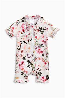 Frill Sunsafe Suit (3mths-6yrs)