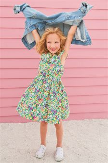 Cotton Prom Dress (3-16yrs)
