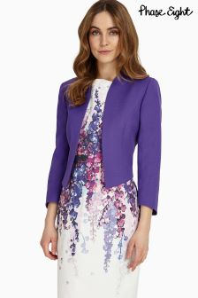 Phase Eight Purple Tabitha Jacket