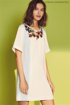 French Connection Summer White Ernest Floral Tunic
