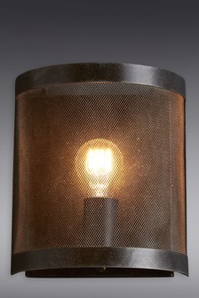 Rustic Mesh Wall Light