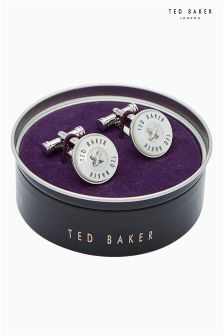 Ted Baker Sizzle Semi Precious Button Cufflinks