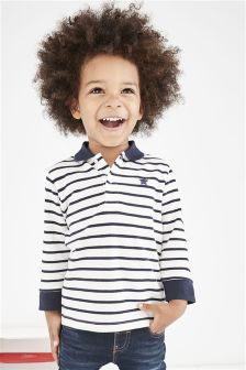 Long Sleeve Essential Polo (3mths-6yrs)