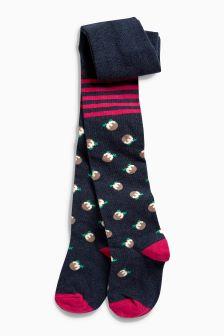 Christmas Pudding Tights (0mths-6yrs)