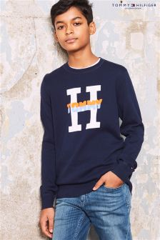 Tommy Hilfiger Navy H Sweater