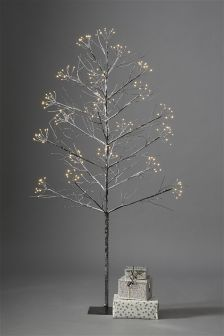 5ft LED Star Burst Twig Tree