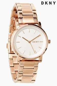 DKNY Soho Rose Gold Plated Watch