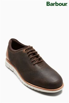 Barbour® Brown Kingsley Derby Shoe