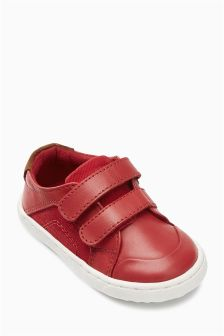 First Walker Double Strap Shoes (Younger Boys)