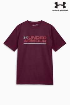 Under Armour Raisin Red Workmark T-Shirt