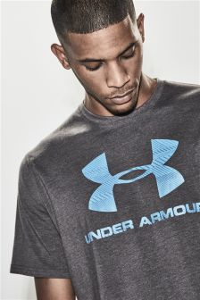 Under Armour Charcoal Logo T-Shirt