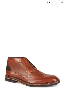Ted Baker Tan/Brown Cinika Brogue Chukka