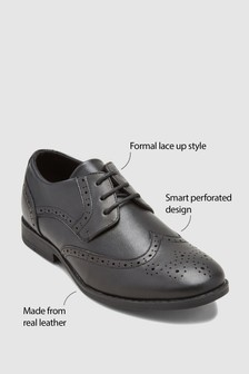 Leather Brogues (Older Boys)