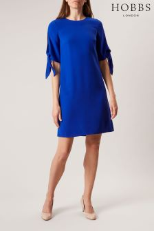 Hobbs Blue Anita Dress