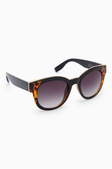 Chunky Cat Eye Style Sunglasses