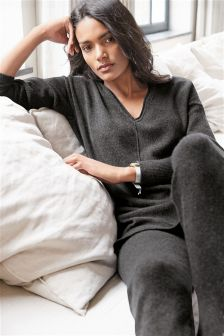 Premium Knitted Tunic With Cashmere