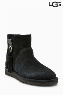 UGG® Black Suede GIB Unlined Ankle Boot