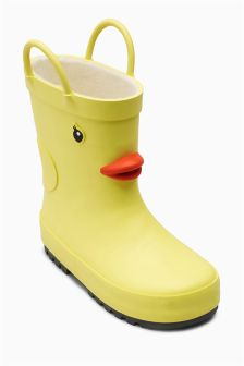 Duck Wellies (Younger Girls)