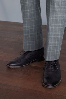 Signature Wing Cap Brogue