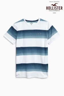 Hollister Navy/White Stripe T-Shirt
