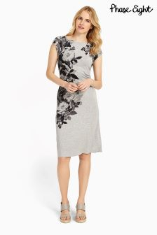 Phase Eight Silver Chantay Rose Dress