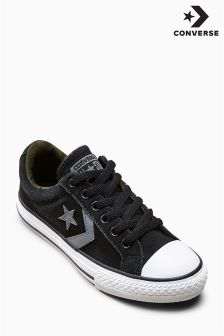 Converse Black/Camo Star Player Ox